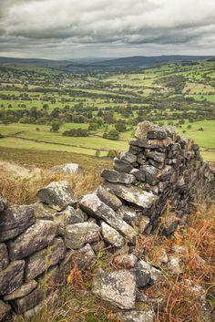 Ilkley Moor, Yorkshire, England byR.M.Waddington