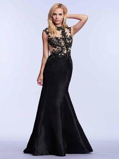 #amazing #blackdress / Czarna suknia wieczorowa z koronkową górą