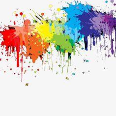 Simple color splash pigment PNG and PSD Beach Sunset Wallpaper, Splatter Art, Pop Art Wallpaper, Paint Drop, Splish Splash, Free Graphics, Simple Colors, Color Splash, Paint Splash