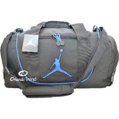 Nike Air Jordan Black and Royal Blue Duffel Bag 9A1498-383 at  OrlandoTrend.com  Nike  AirJordan  Gimnasio  Gym  OrlandoTrend 0831988d5daf2