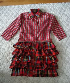 Lumberjack Dress - Omg - should I make this for the party? haha!