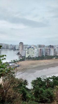São Vicente/ Vista da ilha Porchat / BR