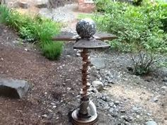 Metal Yard Art - Garden Stakes - Garden Decor, Garden Ornaments
