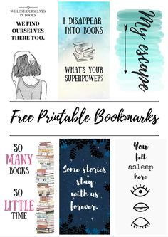 Free Printable Bookmarks marilynnassar.wordpress.com