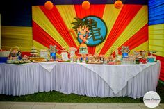 dragon ball z cumpleaños decoracion - Buscar con Google