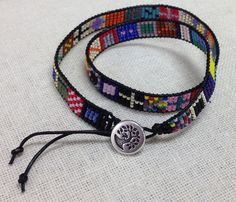 LOVELY Double Wrap Bracelet by Robin Krasnoff!