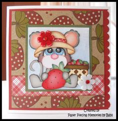 Berry Sweet created by PAPER PIECING MEMORIES BY BABS, using patterns from KaDoodle Bug Designs