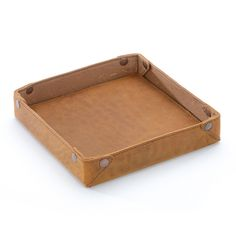 just found this leather accessories tray dresser top leather