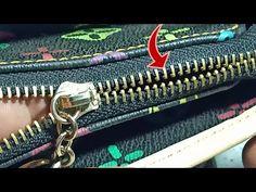 Cara memperbaiki resleting/Zipper ngga menyatu lagi#HD video - YouTube Sewing Hacks, Sewing Projects, Christmas Ornament Crafts, Painting Tools, Clothing Hacks, Bead Jewellery, Sewing Techniques, Bracelet Patterns, Diy Woodworking