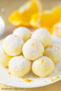White Chocolate Orange Truffles