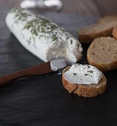 How to make goat cheese: An easy and delicious recipe you can make at home. Ready in two hours or less. Great on toast or salads. No goat required!