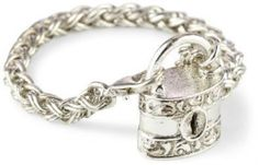55.32$  Watch now - http://visoy.justgood.pw/vig/item.php?t=8k4isjo45393 - 1928 Jewelry Company Antiquities Couture Silver Lock to My Heart Toggle Bracelet 55.32$