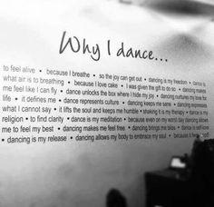 Why I dance...