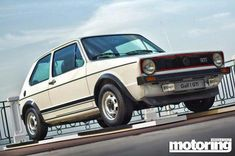 Classic Car News Pics And Videos From Around The World Gti Car, Vw Mk1, Car Volkswagen, Vw Cars, Golf Mk2, Small Cars, Touring, Classic Cars, Vehicles
