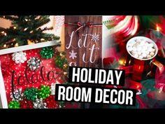 DIY Holiday Room Decor Ideas & Christmas Makeover! | LaurDIY - YouTube
