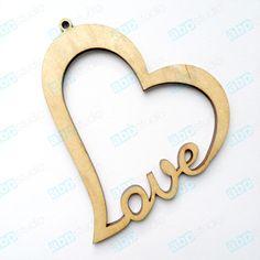 Holzherz LOVE