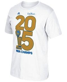 47184c36d adidas Men s Golden State Warriors Golden Year Champ T-Shirt 2015 Nba  Champions