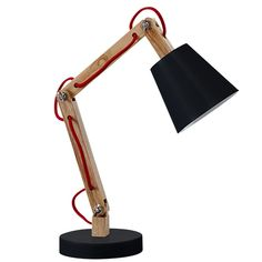 A modern table lamp which fits in the different children rooms. Also very useful at the LIFETIME desks. Desk Lamp, Table Lamp, Modern Table, Kids Room, Home Decor, Unique, Black People, Human Height, Table Lamps