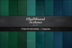 Chalkboard Textures Vol.1 by BMachina on Creative Market