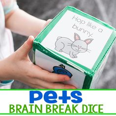 Yoga, per actions, super hero actions, dance moves, etc These pet theme brain breaks for kids are the perfect free printable gross motor activity for your preschool and kindergarten. Get your kids wiggles out with these easy to print break break cubes. Creative Curriculum Preschool, Kindergarten Themes, Brain Breaks For Kindergarten, Daycare Curriculum, Childcare, Homeschooling, Gross Motor Activities, Preschool Activities, Pet Theme Preschool