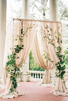 Botanical greenery wedding decor – Sheer Ever After weddings