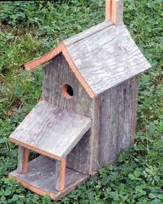 birdhouse with porch - Google Search