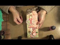 Prima doll stamp card share - YouTube