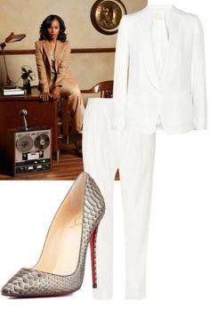 Steal her style: Dress like Kerry Washington's Olivia Pope #halloween