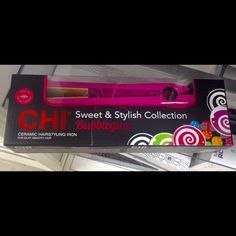 Brand new in box Bubble gum CHI straightener Brand new, still in box, bubblegum CHI, sweet and stylish collection CHI Accessories Hair Accessories