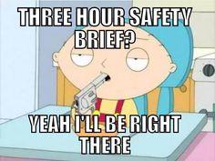 Safety brief   Marine Corps humor lol