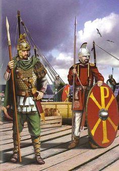 Ancient Rome, Ancient History, Byzantine Army, Imperial Legion, Roman Britain, Roman Legion, Horse Logo, Medieval World, Military Art