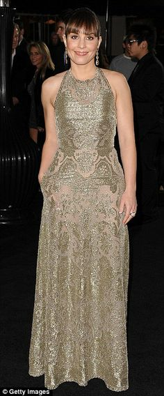 """Noomi Rapace in Valentino at the L.A. premiere of """"Sherlock Holmes: A Game of Shadows"""", December 2011"""