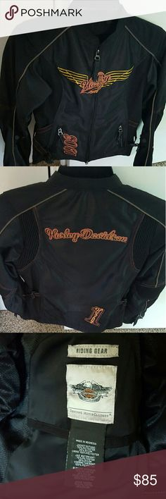 Harley Davidson Riding Jacket worn once, genuine riding gear, in new condition. Harley-Davidson Jackets & Coats