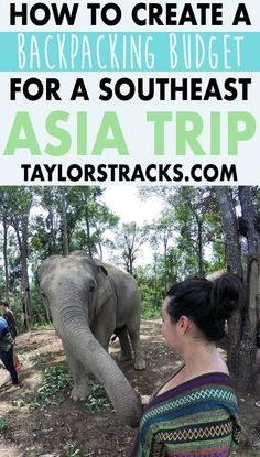 Heading to southeast Asia?  This is the one post you'll need to help you get your budget sorted for backping this awesome continent. Click to start planning now! #southeastasia #budgeting #backpacking ****************************************Southeast Asia backpacking | Southeast Asia budget | Thailand travel | Cambodia travel | Myanmar travel | Vietnam travel | Laos travel