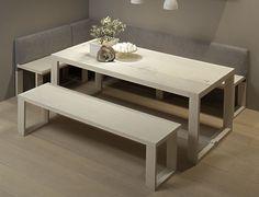 Mesa, sillas y bancadas Arkadia