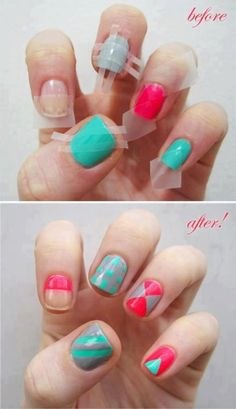 Nails...........Woah! doing this now.....