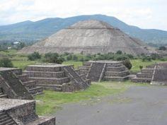 Aztec Temples, Mexico
