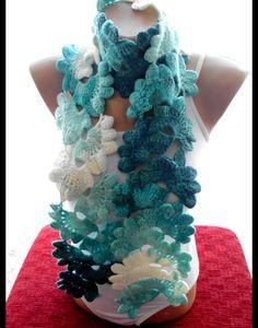 Ombre Schal blauen Schal Schals Frauen Zubehör