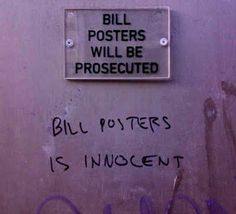 Stop Messing With Bill