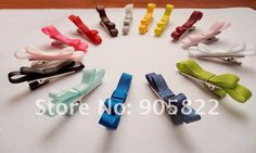 Free shipping+wholesale-110pcs/lot,Double hair bow hair clips,  Girl' hairpin, baby's Barrettes,kid's headwear (ET004)