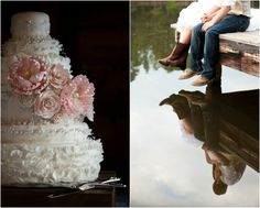 Love  this site and the reflection picture on the right. Rustic Country Wedding Images