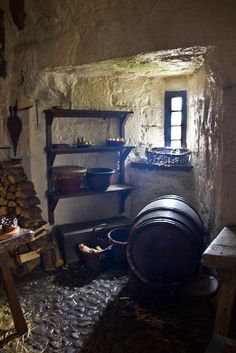 Medieval || Kitchen Pantry - Castle Rushen, Castletown, Isle of Man