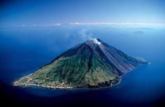 Stromboli is one of seven islands in the chain and home to an eponymous volcano that has been in near continuous eruption for at least 20,00...