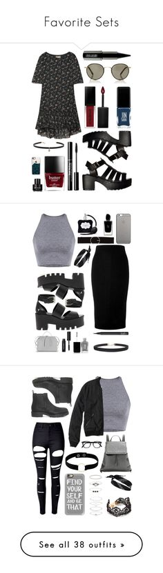 """""""Favorite Sets"""" by pattibear ❤ liked on Polyvore featuring Yves Saint Laurent, Garrett Leight, Smashbox, JINsoon, Carbon & Hyde, Casetify, Kenneth Cole, Lord & Berry, Victoria Beckham and Windsor Smith"""