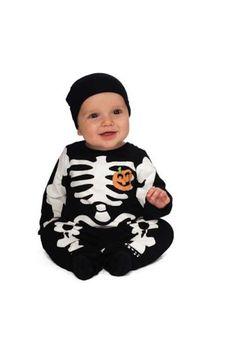Disfraces de Halloween para bebés: fotos de los disfraces - Disfraz esqueleto