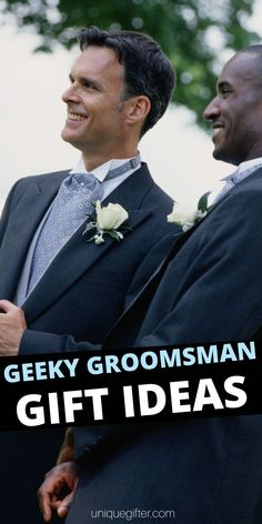 You are going to love these Best Geeky Groomsman Gifts for anyone who is into nerdy things. Impress your groomsman with some awesome gifts! Asking Groomsmen, Groomsmen Presents, Groomsmen Gifts Unique, Bridesmaids And Groomsmen, Groomsman Gifts, Creative Gifts, Unique Gifts, Wedding Attendant Gifts, Gift Suggestions