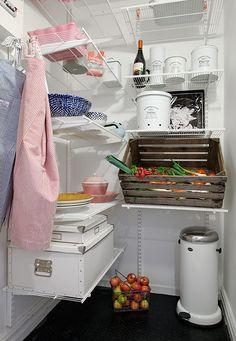 Secretul elegantei poate incepe din … camara cu alimente!