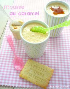 Mousse au caramel {au beurre salé}