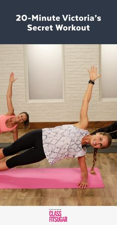 This body-sculpting workout helps get Victoria's Secret model Alessandra Ambrosio runway ready. Created by Alessandra's trainer Heather Dorak, Ab Workout Men, Abs Workout Routines, No Equipment Workout, Workout Videos, Ab Workouts, Exercise Videos, Workout Plans, Pilates Routines, Mini Workouts