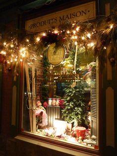windows at Christmas